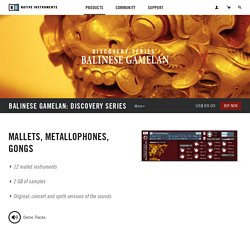 Komplete : Cinematic : Balinese Gamelan
