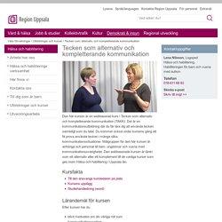 Tecken som alternativ och kompletterande kommunikation - www.lul.se