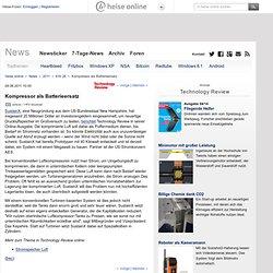 online - Kompressor als Batterieersatz