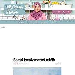 Sötad kondenserad mjölk - My Kitchen Stories