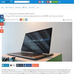 Acer Aspire R7 kommt in drei Konfigurationen ab 899€ nach Deutschland