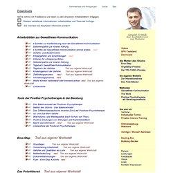 Konfliktberatung - Downloads - Gabriel Fritsch