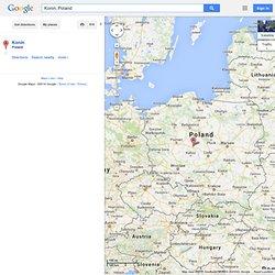 Konin, Poland - Google Maps