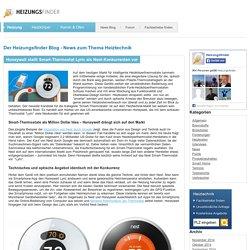 Honeywell stellt Smart-Thermostat Lyric als Nest-Konkurrenten vor
