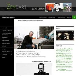 Konstantin Grcic - Blog Zendart Design