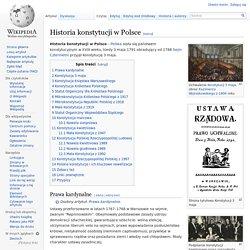 Historia konstytucji w Polsce
