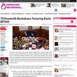 Mengulas Kecantikan dan Kosmetik Berbahaya di Indonesia