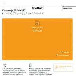 Konwersja PDF do PPT
