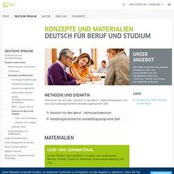 Konzepte und Materialien - Deutsch für Beruf und Studium