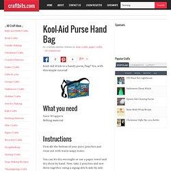 Kool-Aid Pouch Handbag
