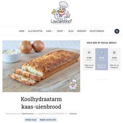 Koolhydraatarm kaas-uienbrood - Lowcarbchef.nl