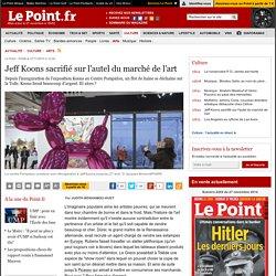 Jeff Koons sacrifié sur l'autel du marché de l'art