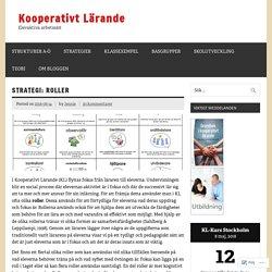 Strategi: Roller i Kooperativ Lärande – Kooperativt Lärande