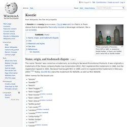 Koozie - Wikipedia
