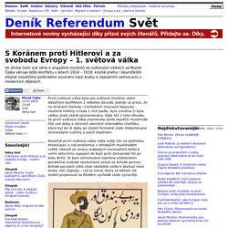 S Koránem proti Hitlerovi a za svobodu Evropy – 1. světová válka