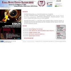 Korea Model United Nations