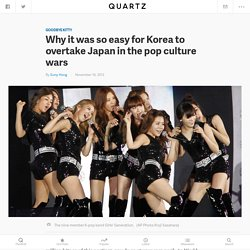 Why it was so easy for Korea to overtake Japan in the pop culture wars - Quartz