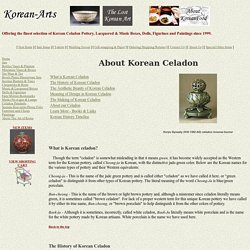 Korean-Arts About Korean Celadon