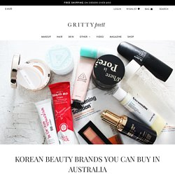 KOREAN BEAUTY BRANDS YOU CAN BUY IN AUSTRALIA - Gritty Pretty