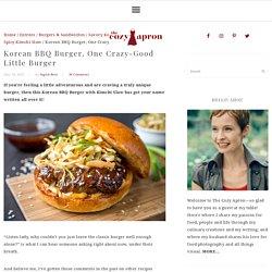 BBQ burger à la coréenne