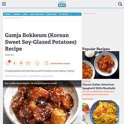 Korean Sweet Soy-Glazed Potatoes (Gamja Bokkeum) Recipe
