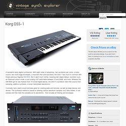 Korg DSS-1