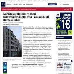 Koristejoulupukki roikkui kerrostalosta Espoossa – asukas luuli humalaiseksi - Joulukoristeet - Kaupunki