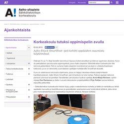 Uutiset: Korkeakoulu tutuksi oppimispelin avulla - Aalto-yliopisto