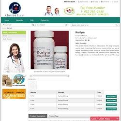 Buy Korlym Abortion Pill Online