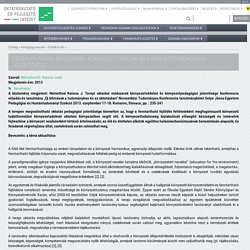 Terepi oktatási módszerek környezetvédelmi és környezetpedagógiai jelentősége