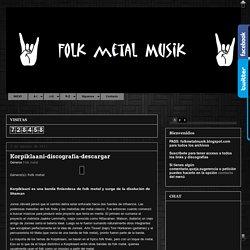 FOLK-METAL-MUSIk: Korpiklaani-discografía-descargar