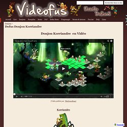 Donjon Korriandre - Videofus Fansite