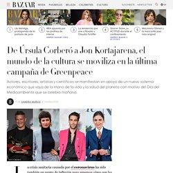 De Úrsula Corberó a Jon Kortajarena, la cultura se moviliza en la última campaña de Greenpeace