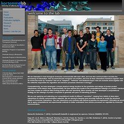 Kortemme Lab, UCSF | Home