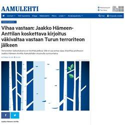 Jaakko Hämeen-Anttila: Vihaa vastaan
