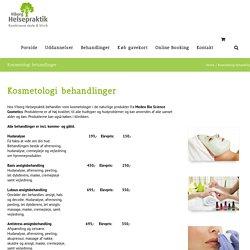Kosmetolog behandling i Viborg - Viborg Helsepraktik