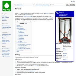 Kossel - RepRapWiki - Nightly