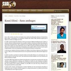 Kossi Efoui - Sans ambages