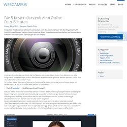 Die 5 besten (kostenfreien) Online-Foto-Editoren - WebCampus - E-Learning Komplettlösung