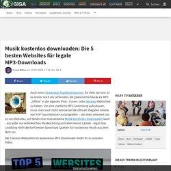 Musik kostenlos downloaden: Die 5 besten Websites für legale MP3-Downloads