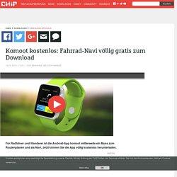 Komoot kostenlos: Fahrrad-Navi völlig gratis zum Download