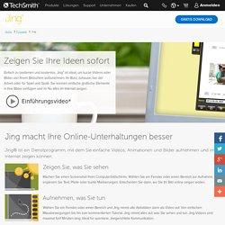 Jing, kostenlose Software für Bildschirmfotos und Videos