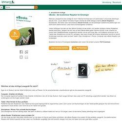 eBooks - der kostenlose Ratgeber für Einsteiger - Lehmanns.de