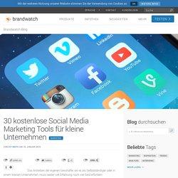 30 kostenlose Social Media-Tools für kleine Unternehmen