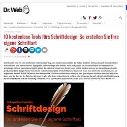 10 kostenlose Tools fürs Schriftdesign
