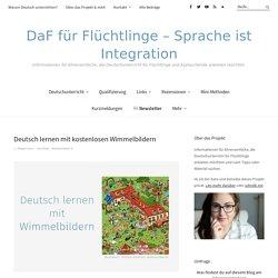 Deutsch lernen mit kostenlosen Wimmelbildern - DaF für Flüchtlinge - Sprache ...