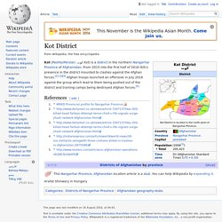 Kot District - Wikipedia