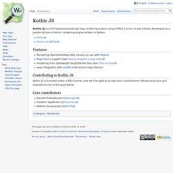 Kothic JS