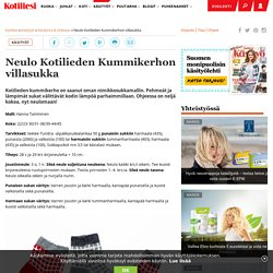 Neulo Kotilieden Kummikerhon villasukka - Kotiliesi.fi