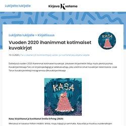 Vuoden 2020 ihanimmat kotimaiset kuvakirjat